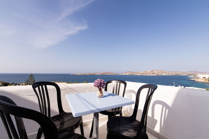 Traditional Apartment with Sea View - Paros - Pis