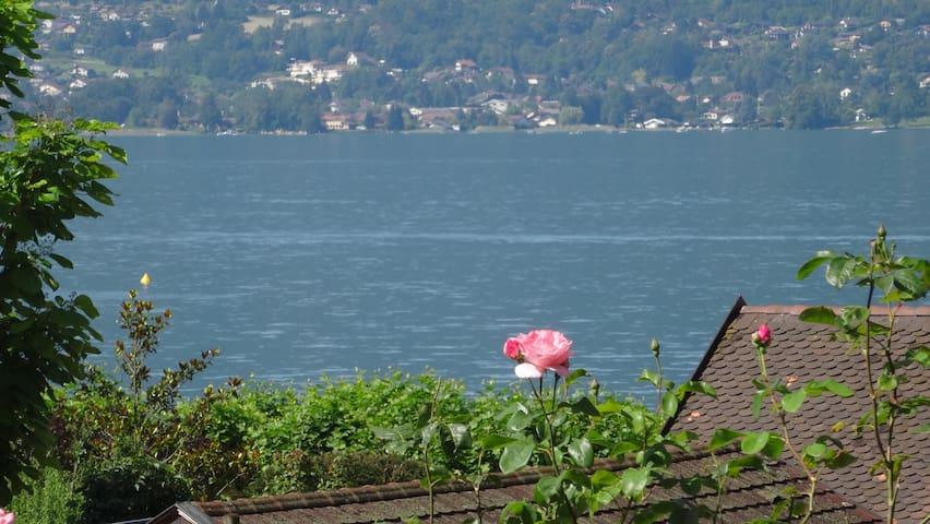 Appartement à 1 min à pied du lac d'Annecy