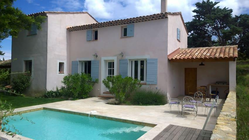 Maison provençale avec piscine - Saint-Pierre-de-Vassols