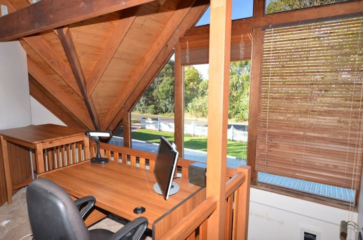 Lovely office space if you need to retreat for a week to get some work done!