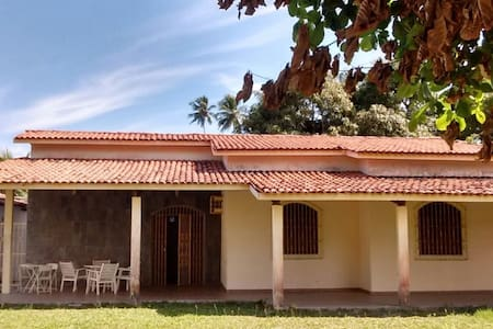 Casa para temporada – Praia Conceição – Vera Cruz - Condomínio Irmãos Unidos - Rumah