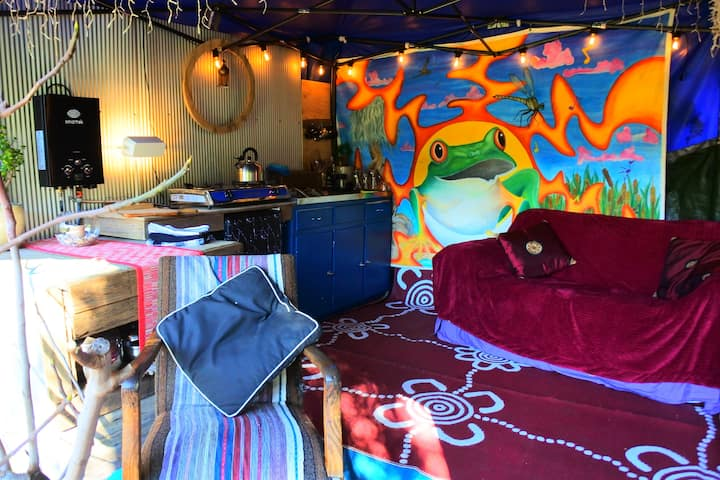 Froggy Hollow Glamping in the Heart of Tilba Tilba