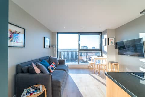 Stylish Studio Finnieston Close to City Centre