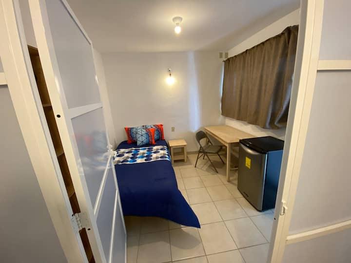 Agradable habitación (eco-friendly)🌿 Doble 2️⃣