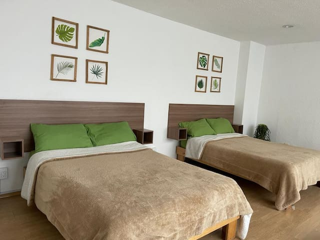 Polanco Comfort - Double Bedroom