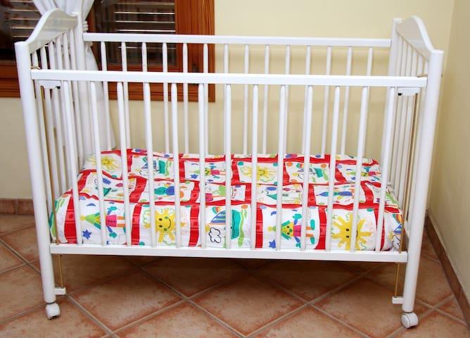 Y para los pequeños: cuna   And for the small ones: cradle