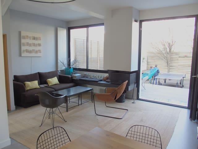 Belle maison moderne 180m2 - jardin - Issy-les-Moulineaux - Ev