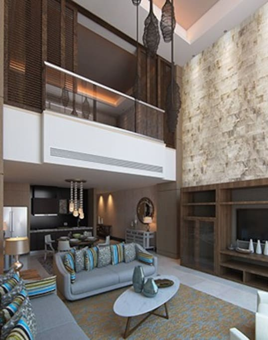 Residence 1 BD Pent Loft