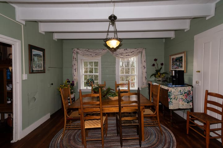 Common space - dining room