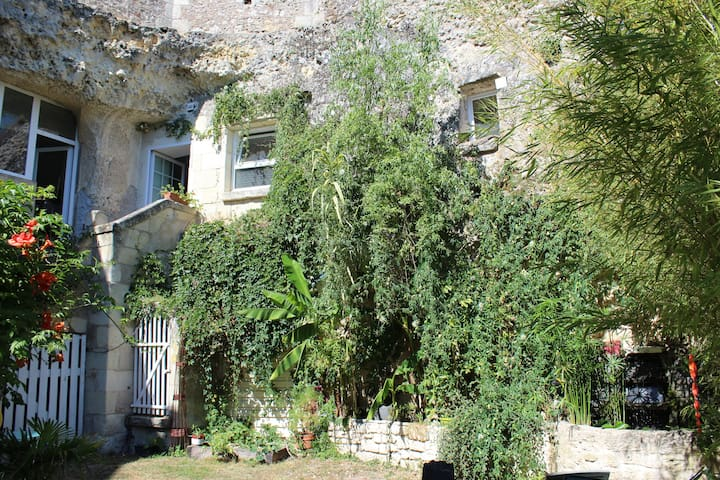 Logement troglodytique Le Mouton 10 km Villandry