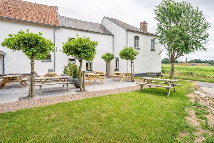 Spacious Farmhouse in Limburg with Forest Near