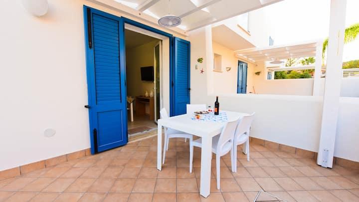 Appartamento  Claudia  blu mar,con  Wi-Fi