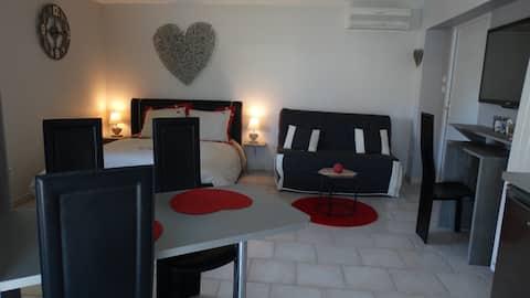 迷人的獨立單間公寓,距離科爾馬10公裏。