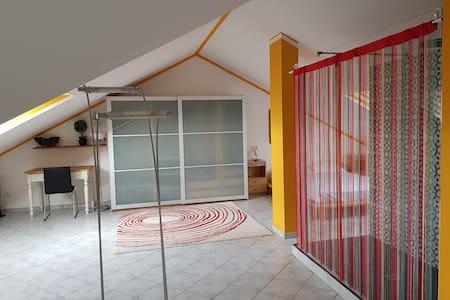 Chez Panda: Ampia e Luminosa mansarda - Open Space