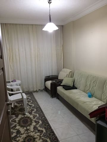 İf You come 2 person one of you will  Will Stay at this Room..  Here is a couch.  - This is the  special room for you. You will have Panoramic view from the Balcon, free place for your furnitures.