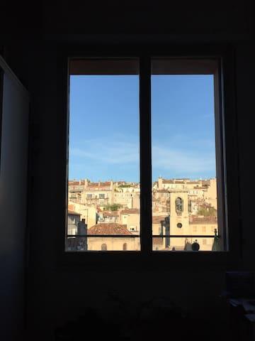 chambre dans une colocation rue de Rome