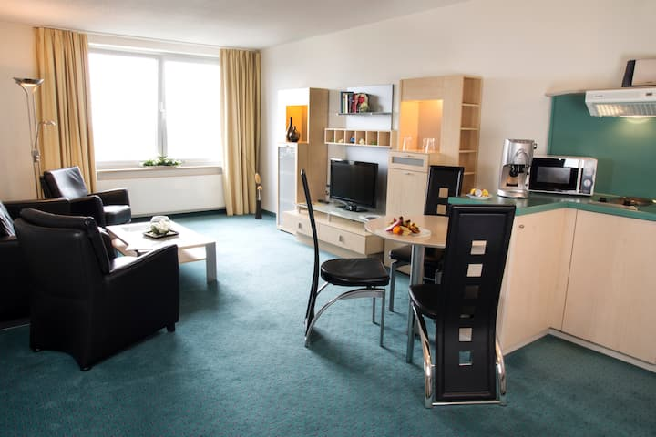 2-Raum-Apartment Business Deluxe