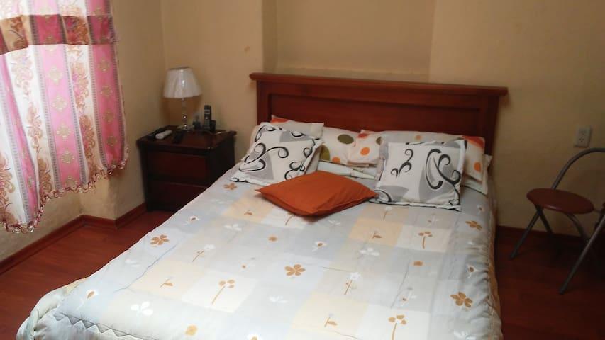 Cálido alojamiento en el centro de Quito