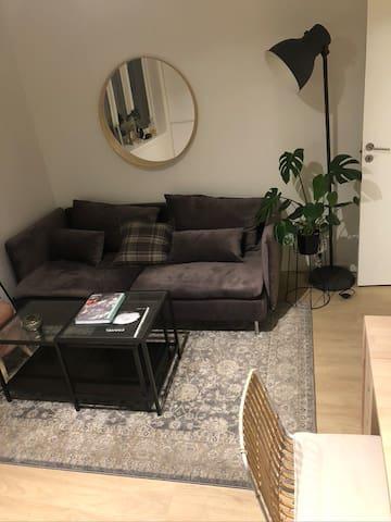 Koselig leilighet nær Bergen sentrum