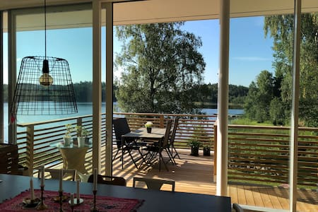 House 15 minutes outside Göteborg with lake-view