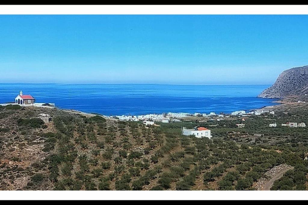 Milatos village