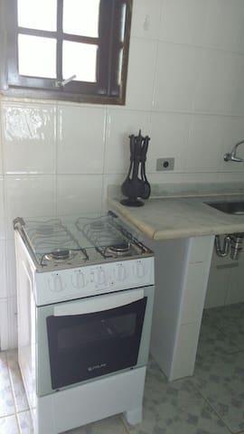 cozinha com fogao
