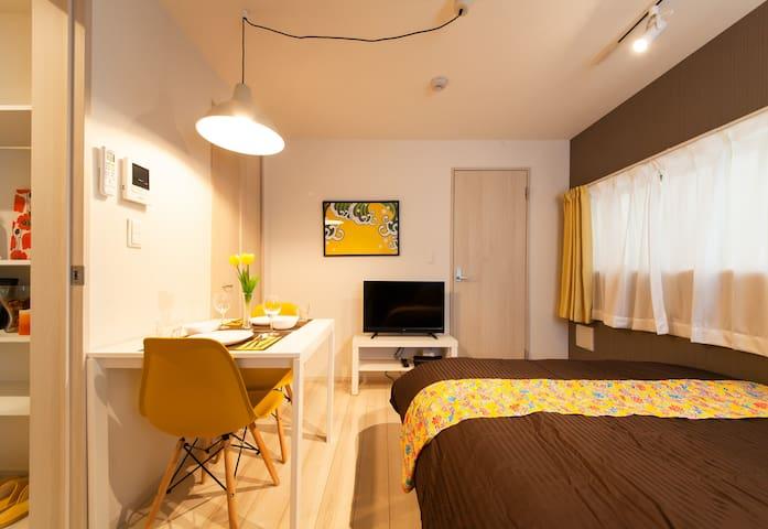 301/1 Room/Nippori, Yanaka, Ueno, Asakusa/Wi-Fi