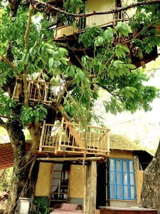 Khaama Kethna - Bedroom & Treehouse - Living Space - Canacona - Treehouse