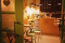 A Larnaca cafe bar