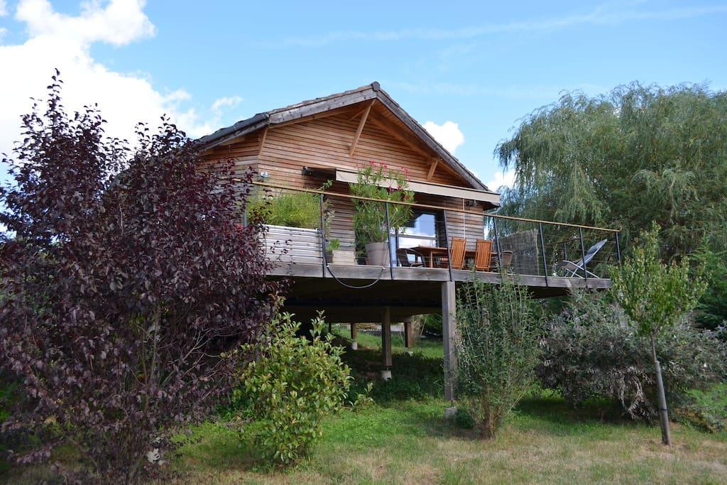 Maison Bois Dordogne - Maison en bois neuve pr u00e8s Dordogne et Rocamadour Maisonsà louerà Puybrun, Languedoc