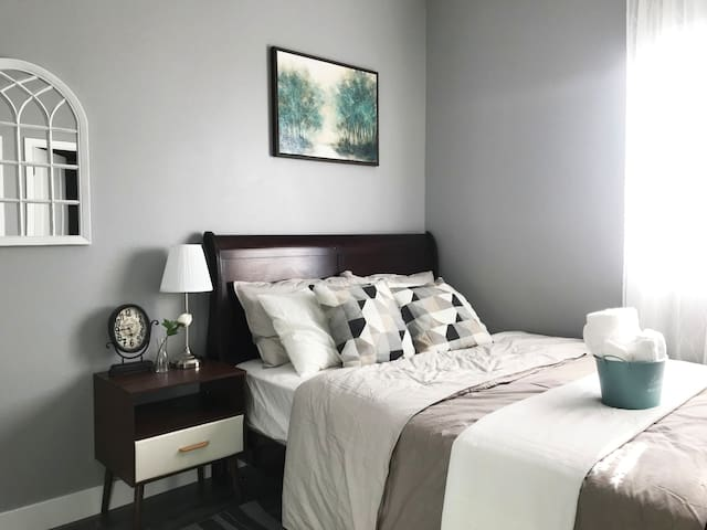 Brand new Private room with private bathroom-#3