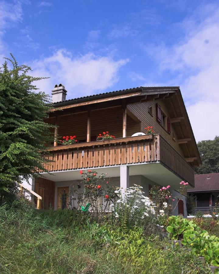 My Swiss Ski Chalet, the largest on the mountain