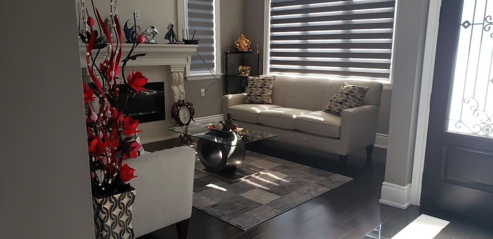 Brand new private  room with patio