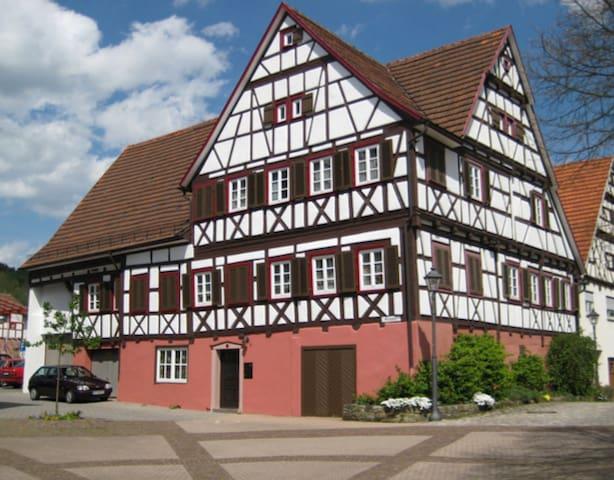 Ferienwohnung Schwalbennest - ANdiKE - Rudersberg - Flat