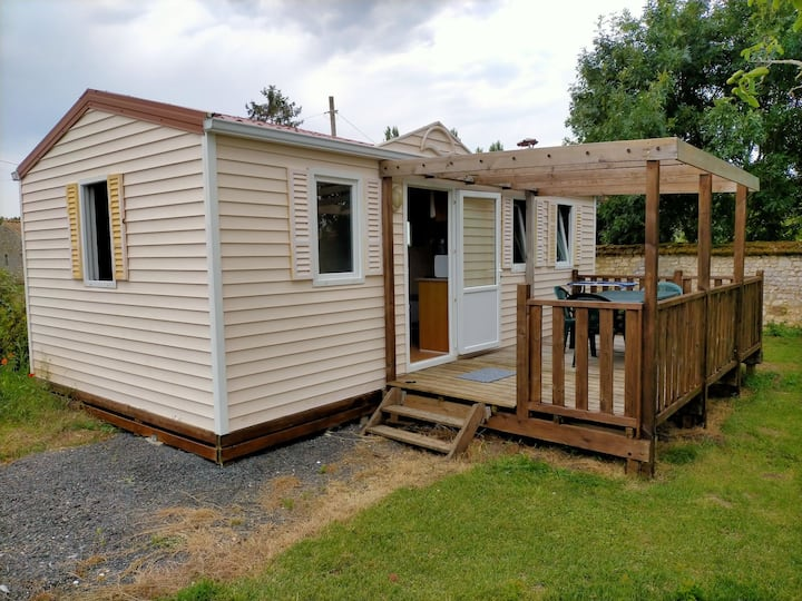 """Mobile home 2 chambres """" Hermione"""""""