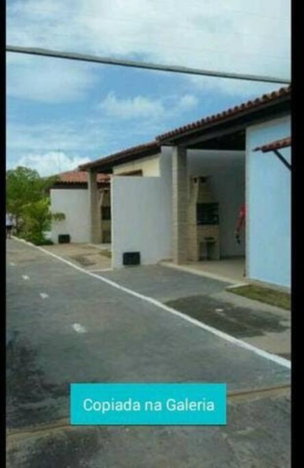 Primeira Casa do Condomínio - Casa Azul