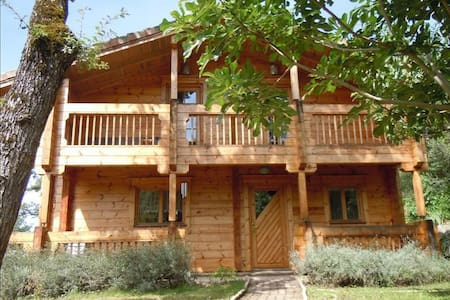 La maison en bois - Puygouzon