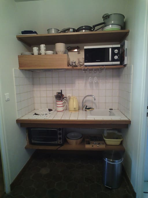 Une cuisine bien équipée