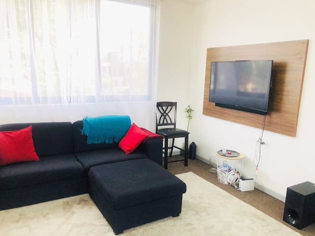 Retreat to a Simple Stylish Apartment in Accra