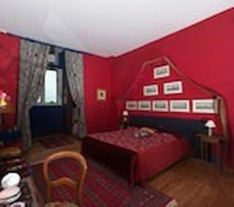 Chambre Marin château du Boisrenault - Buzançais - Guesthouse