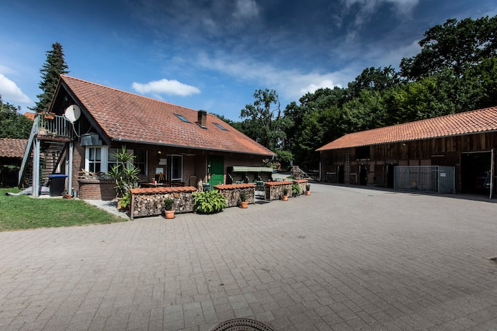 Café Haferkorn Zimmer auf dem Reiterhof