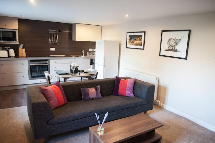 Wyvis Apartment, City Centre & Free Parking