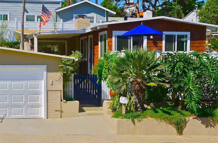 Beach Cottage with Private Yard - San Clemente - House