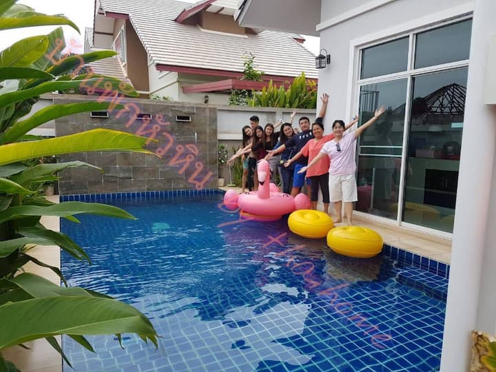 HuaHin Happy Family House anjoy and relex