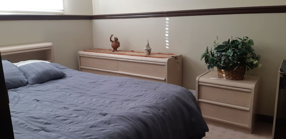 Bedroom close to airport