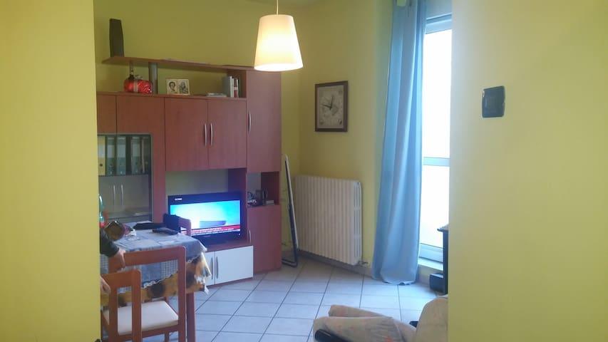 Biella bilocale affitto per brevi periodi - Biella - Apartment
