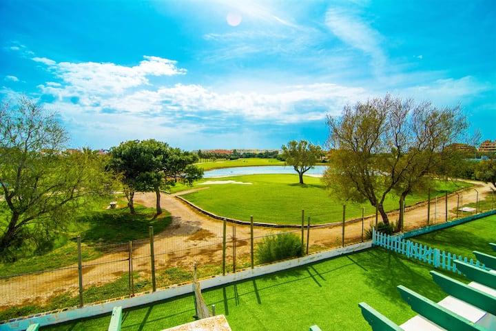 Gran Apto 2 Rooms Vistas al Lago y Piscina Abierta