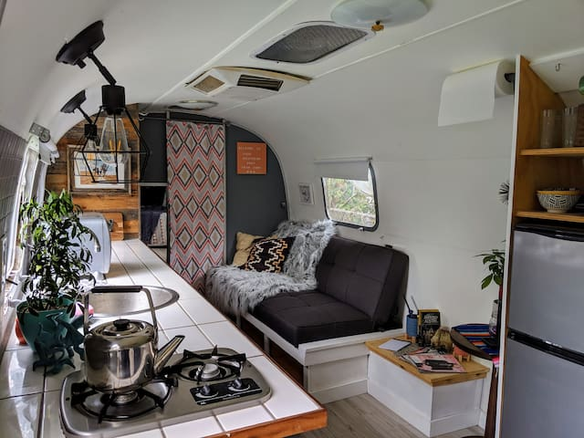 Coziest Airstream in Austin