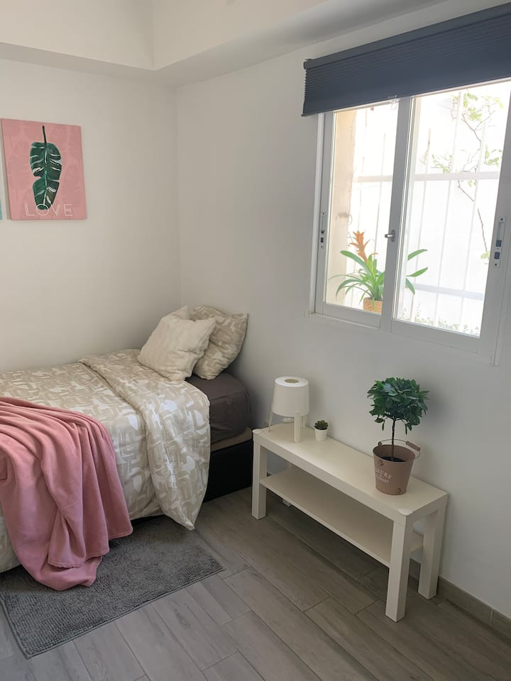 Habitación en Madrid para estancias largas