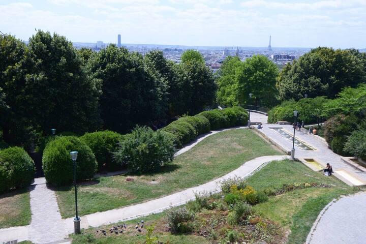 Chambre privée dans appartement Paris 20e